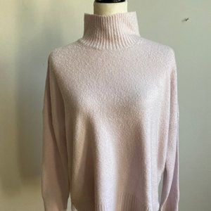 French Connection mock neck lavender Sweater Small